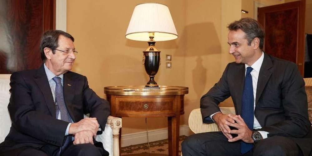 Την ανησυχία του για την τουρκική προκλητικότητα εξέφρασε ο Μητσοτάκης στον Αναστασιάδη