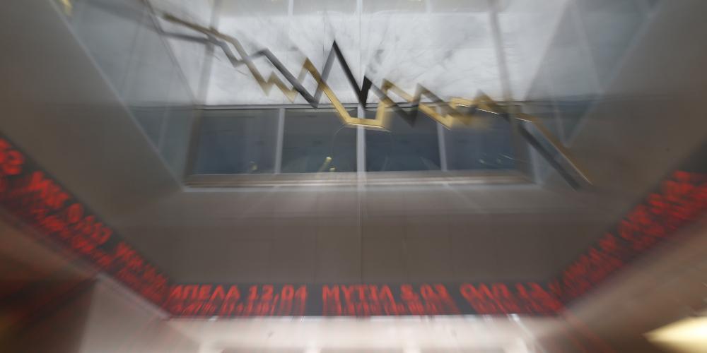 Ο κορωνοϊός «χτύπησε» και χρηματιστήριο - Απώλειες κοντά στο 6%
