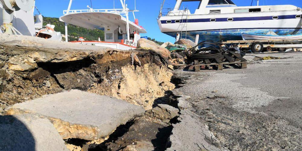 Σεισμός στην Ζάκυνθο: 275 κτίρια κρίθηκαν προσωρινά ακατάλληλα
