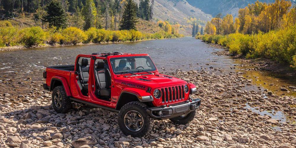 Νέο Jeep Gladiator pick-up 2020