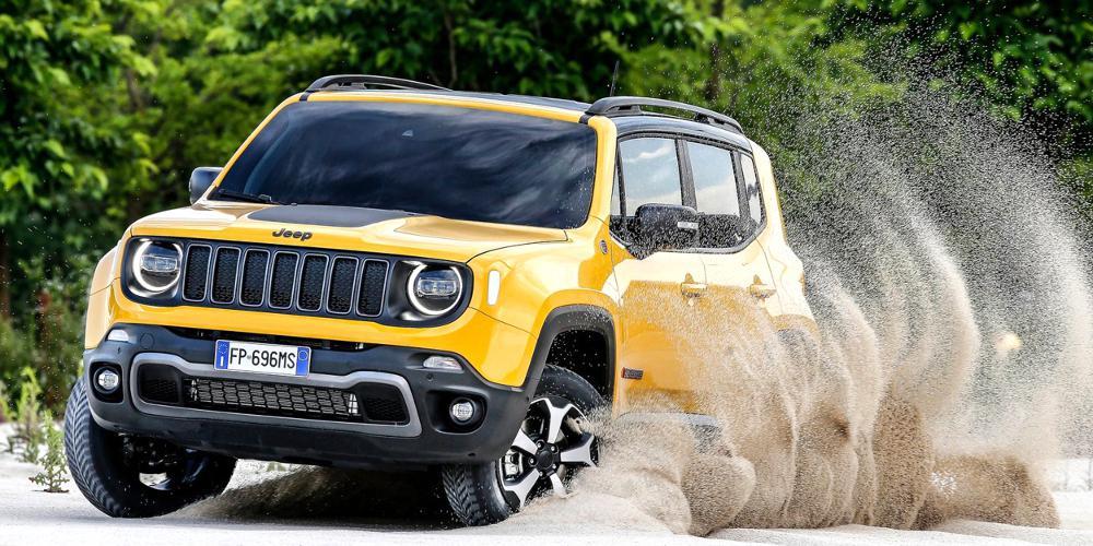 Ανανέωση με νέους κινητήρες για το Jeep Renegade