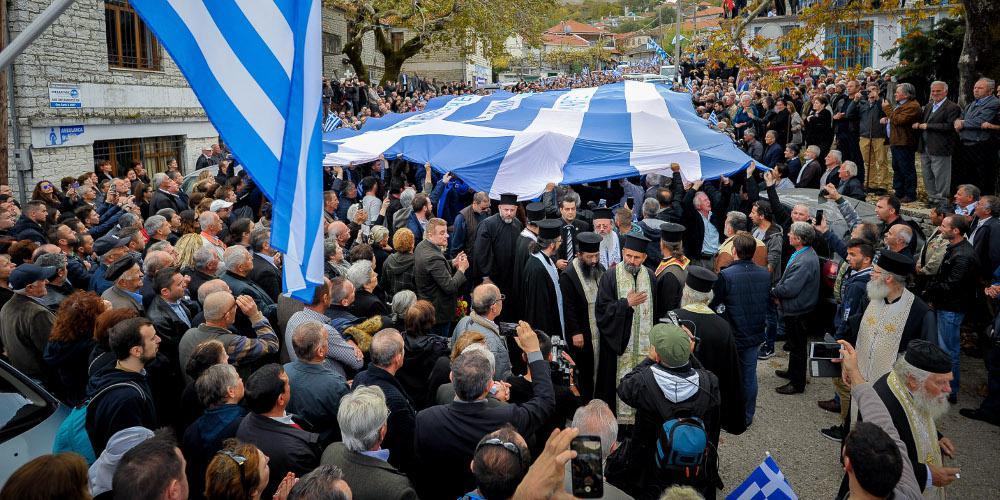 Αλβανικές προκλήσεις: Συνέλαβαν αστυνομικό συνοδό βουλευτή και στελέχη της «Ομόνοιας»