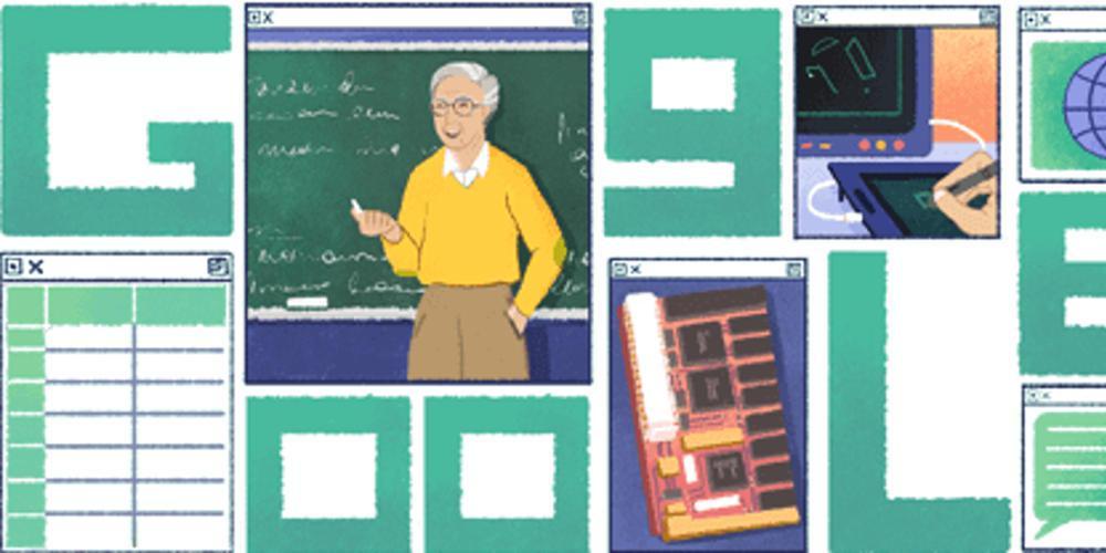 Το doodle της Google αφιερωμένο στον Έλληνα οραματιστή του διαδικτύου, Μιχάλη Δερτούζο