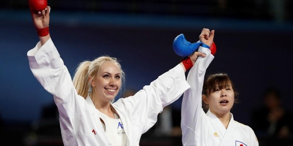 Παγκόσμια πρωταθλήτρια η Ελένη Χατζηλιάδου στο καράτε