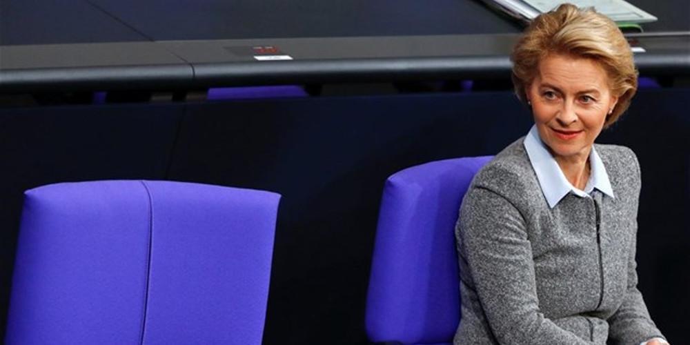 Φον ντερ Λάιεν: Ευρωπαϊκή πρόκληση το πρόβλημα στα σύνορα της Ελλάδας