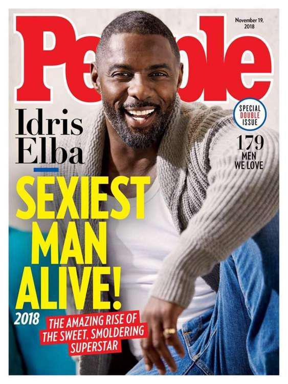 Ο Idris Elba ανακηρύχτηκε ο πιο σέξι άνδρας στον κόσμο