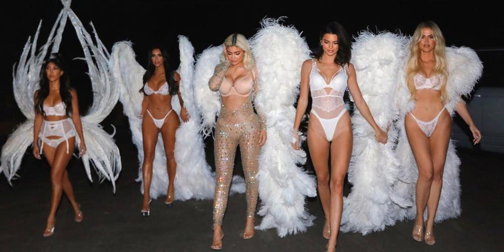 Οι αδερφές Καρντάσιαν έγιναν Άγγελοι της Victoria's Secret [εικόνες]