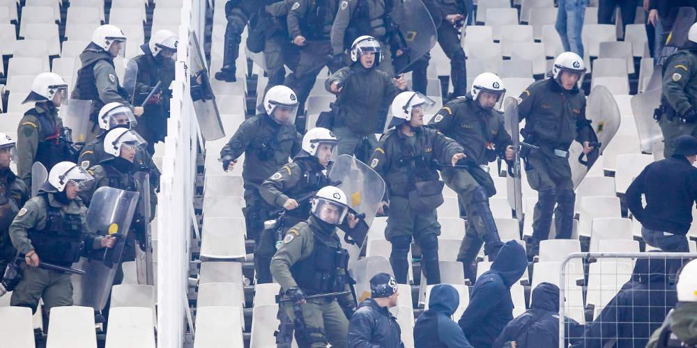 Ειρωνική ανακοίνωση των Αστυνομικών για τα επεισόδια στο ΟΑΚΑ: Για όλα φταίει η Αστυνομία!