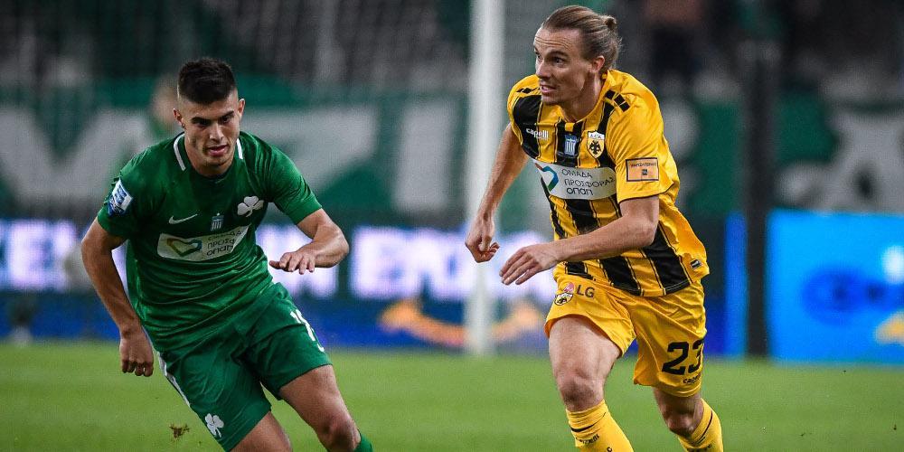 Χαμένοι και οι δύο: Παναθηναϊκός-ΑΕΚ 0-0