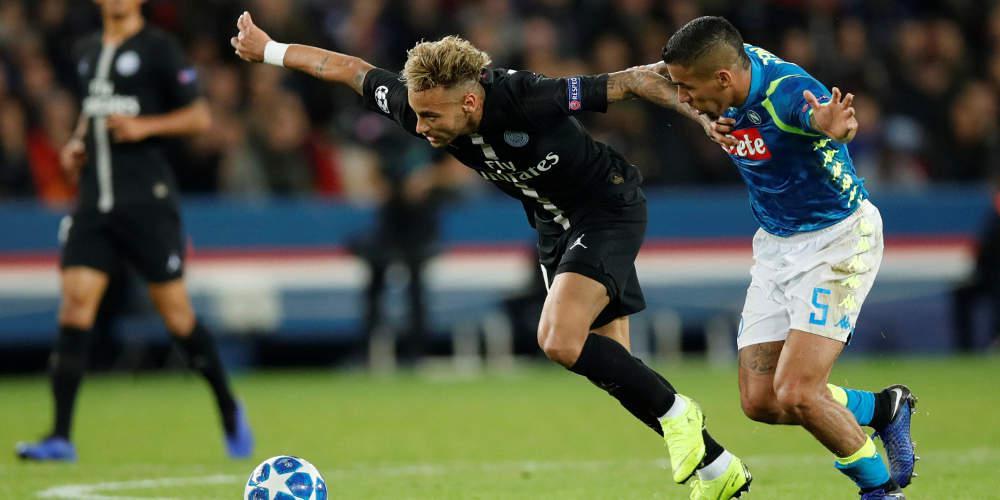 Champions League: Δεσπόζει το Νάπολι-Παρί Σεν Ζερμέν στο αποψινό πρόγραμμα