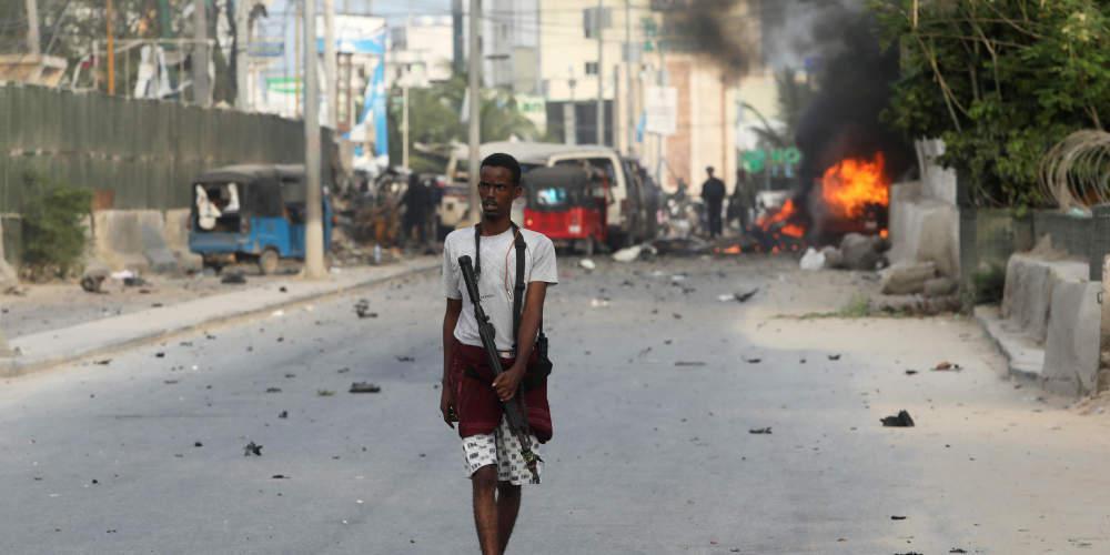 Τραγωδία στη Σομαλία: 39 νεκροί από επίθεση-καμικάζι με παγιδευμένα αυτοκίνητα