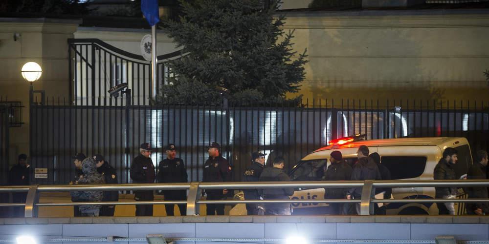 Πυροβολισμοί στην Άγκυρα έξω από την αυστριακή πρεσβεία
