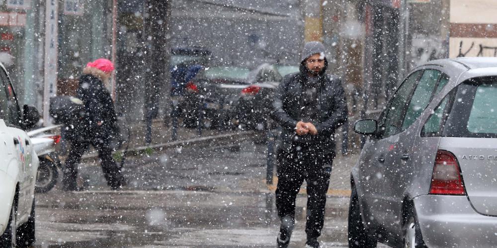 Πρόγνωση καιρού: Χιονίζει τώρα στην Αττική - Χιόνια στο κέντρο της Αθήνας θ φέρει ο «Τηλέμαχος»