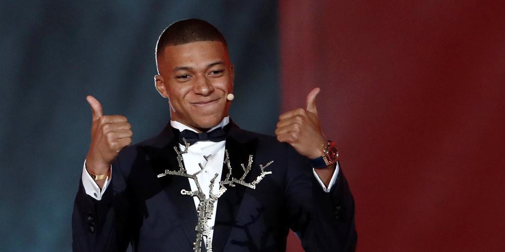 Αθλητής της χρονιάς στη Γαλλία αναδείχθηκε ο Κιλιάν Εμπαμέ