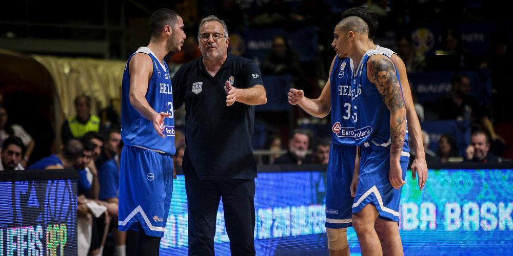 Μουντομπάσκετ 2019: Εκτός αποστολής από την Εθνική Μάντζαρης και Κώστας Αντετοκούνμπο