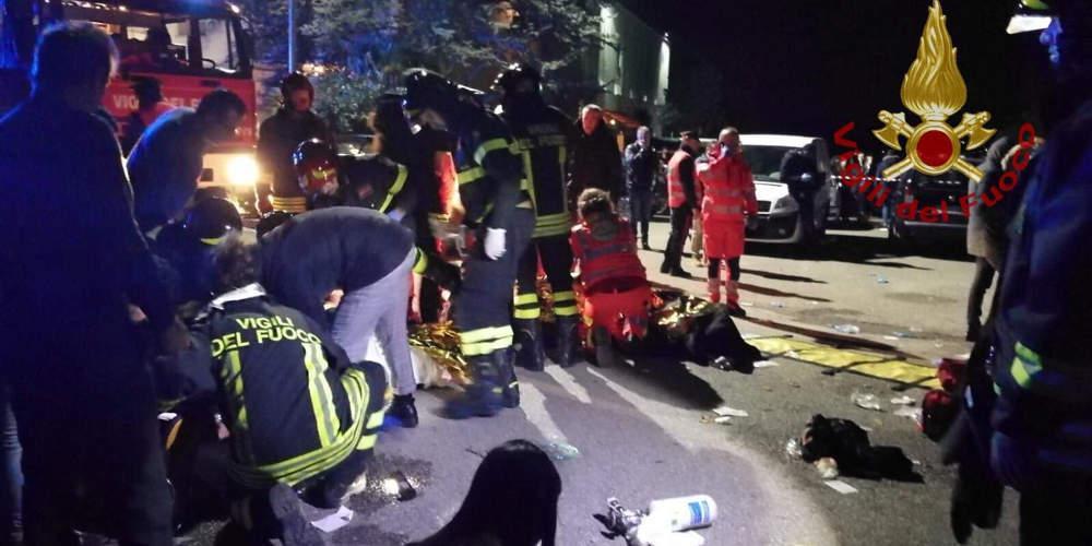 Ιταλικός Τύπος: Ανήλικος προκάλεσε την τραγωδία στο κλαμπ της Ανκόνα στην Ιταλία