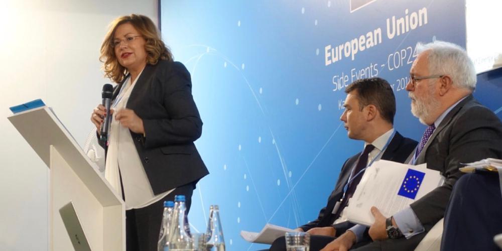 Σπυράκη: 4,8 δισ. από την ΕΕ για τις περιοχές που βρίσκονται σε μετάβαση από τον άνθρακα