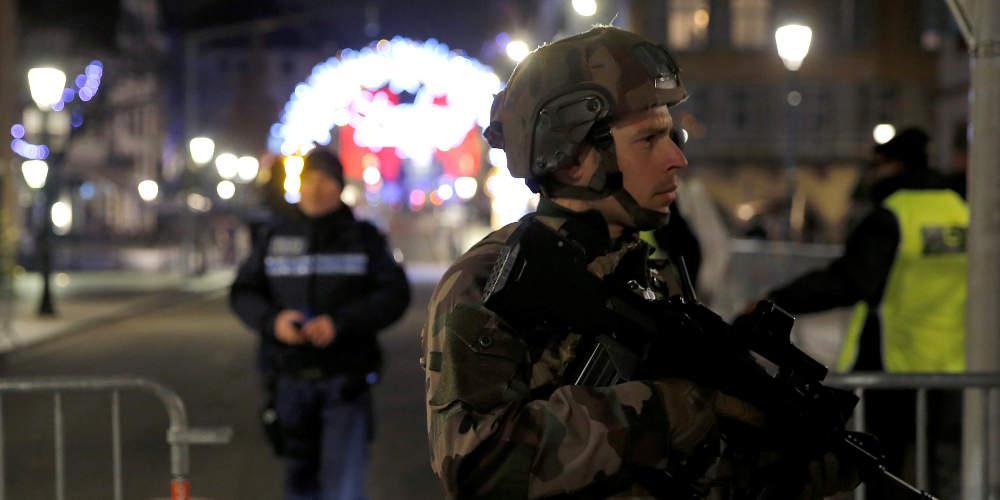 Επιχείρηση σύλληψης του δράστη της επίθεσης στο Στρασβούργο σε εξέλιξη