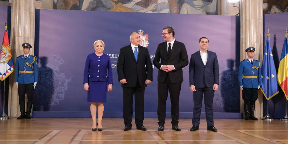 Στο Βουκουρέστι ο Τσίπρας για την Τετραμερή Ελλάδας-Ρουμανίας-Σερβίας-Βουλγαρίας