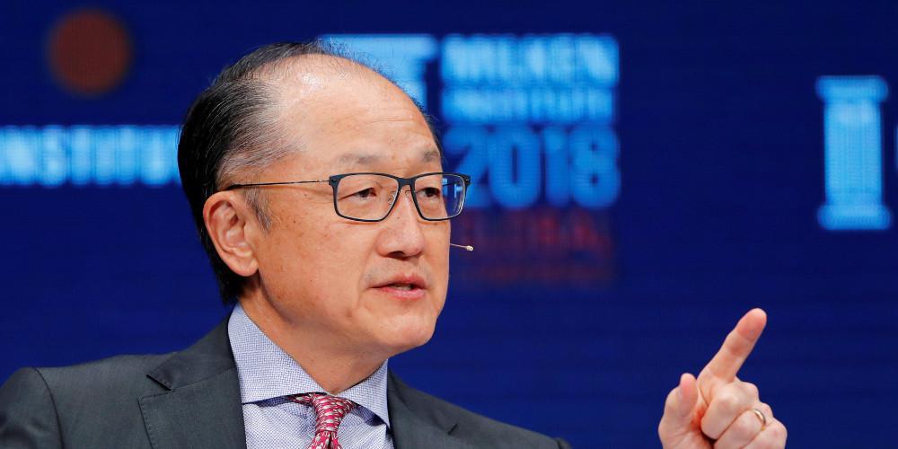 Ξαφνική παραίτηση του προέδρου της Παγκόσμιας Τράπεζας