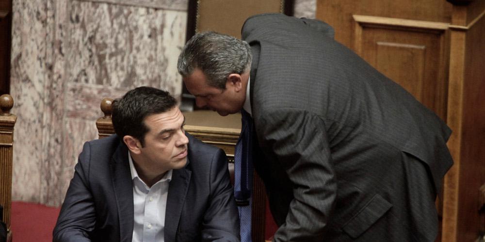ΝΔ για καταγγελίες Καμμένου: Ο κ. Τσίπρας θα τον διαψεύσει;