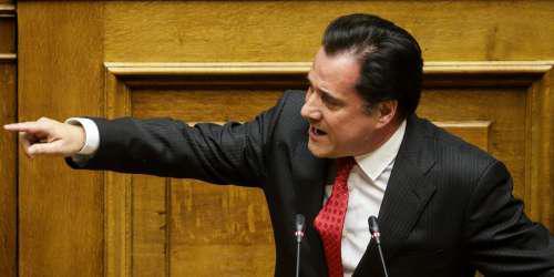 Αποτέλεσμα εικόνας για Άδωνις για Πολάκη: Να παρέμβει εισαγγελέας! Ζούμε σε χώρα απόλυτης παρακμής