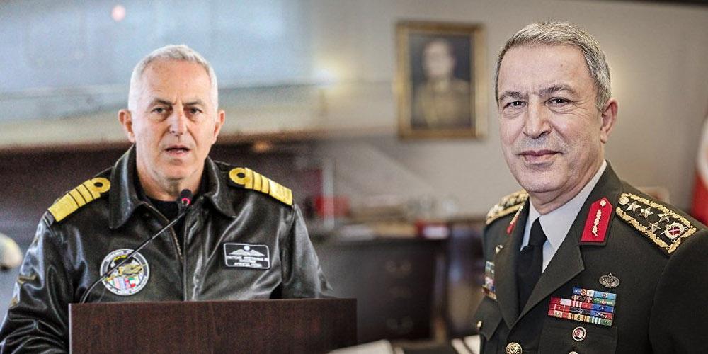 Σε εξέλιξη η συνάντηση Αποστολάκη-Ακάρ στις Βρυξέλλες - Τι θα ζητήσει ο Ελληνας υπουργός Αμυνας