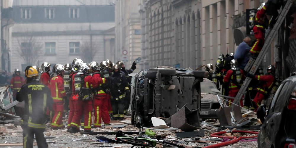 Τραγωδία: Τέσσερις νεκροί από την ισχυρή έκρηξη στο Παρίσι