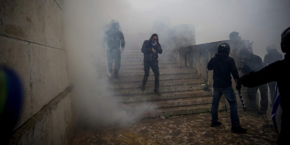 Γερμανικά ΜΜΕ: Βίαιες διαδηλώσεις για τη Συμφωνία των Πρεσπών