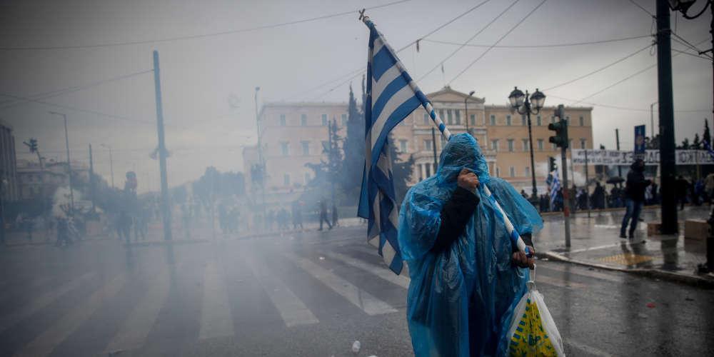 ΕΛ.ΑΣ.: Κάναμε την απολύτως αναγκαία χρήση δακρυγόνων στο συλλαλητήριο