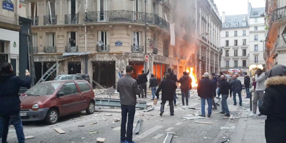 Δύο πυροσβέστες και μία Ισπανίδα τουρίστρια νεκροί από την έκρηξη στο Παρίσι