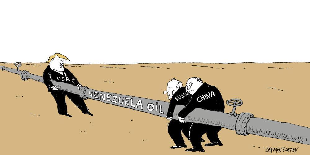 Η γελοιογραφία της ημέρας από τον Γιάννη Δερμεντζόγλου - Πέμπτη 31 Ιανουαρίου 2019