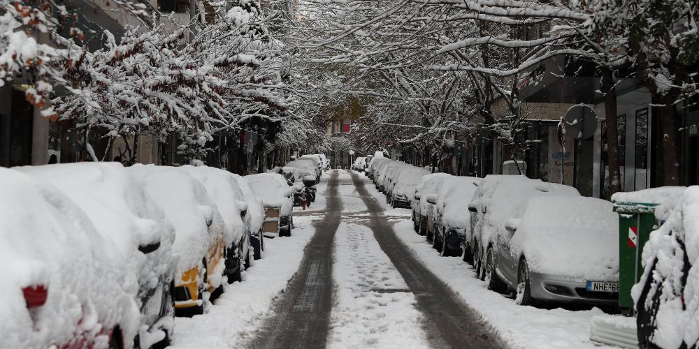 Η Ωκεανίς έκανε ρεκόρ χιονιού: Κάλυψε στα λευκά το 35% της χώρας
