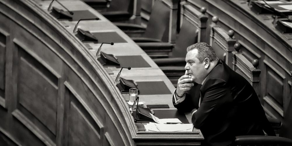 Ο Καμμένος είπε τα Σκόπια -σκέτο- Μακεδονία - Το φάουλ στο Twitter