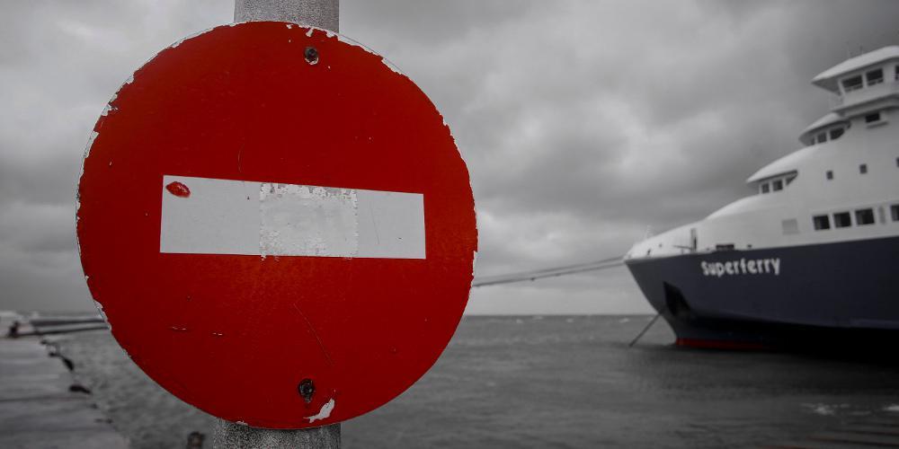 Σε ισχύ το απαγορευτικό απόπλου από Πειραιά,Ραφήνα και Λαύριο
