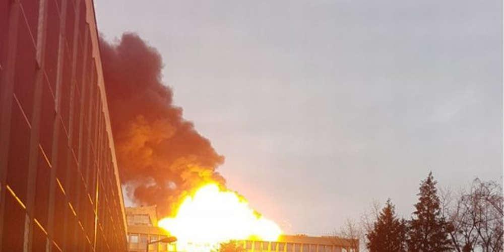Βίντεο-ντοκουμέντο από την στιγμή της έκρηξης στο Πανεπιστήμιο της Λυών