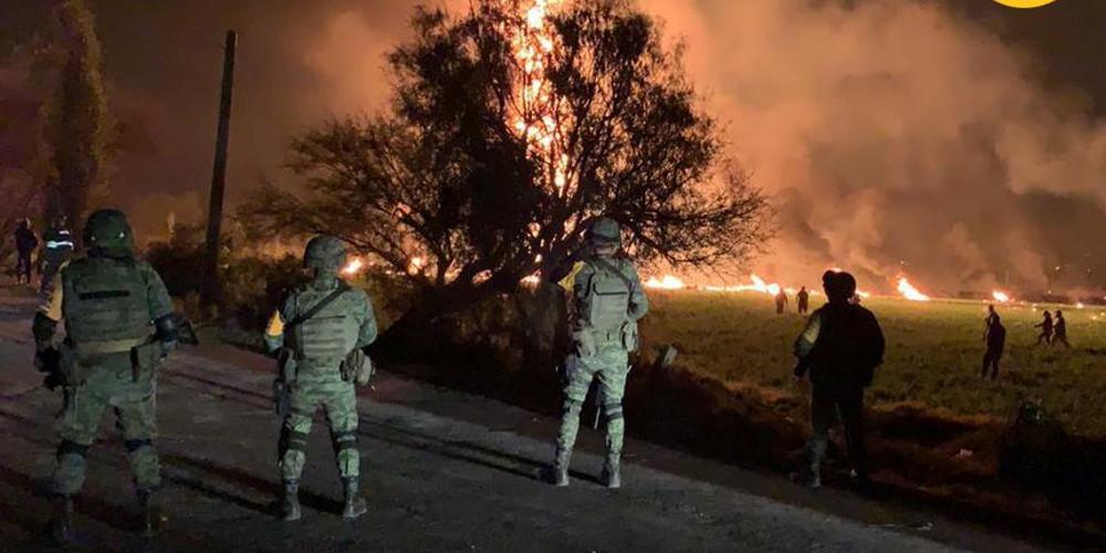 Τραγωδία στο Μεξικό: Στους 94 οι νεκροί από έκρηξη σε πετρελαιαγωγό