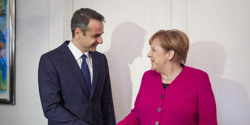Live: Η συνάντηση Μητσοτάκη-Μέρκελ στο Βερολίνο