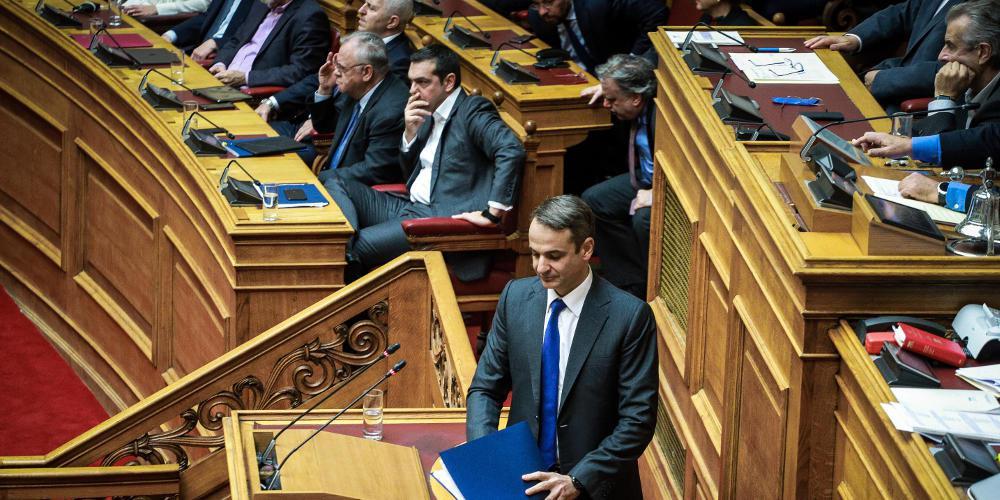 Οργή Μητσοτάκη για Τσίπρα: Είναι ένας ανάξιος πρωθυπουργός που διχάζει το λαό