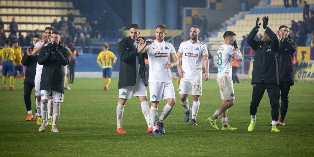 Πέρασε από το Αγρίνιο ο Παναθηναϊκός με 1-0 τον Παναιτωλικό