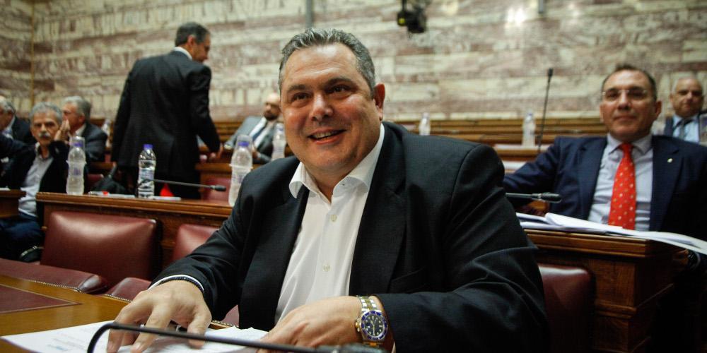 Καμμένος: Με χωρίζουν λιγότερα με τον ΣΥΡΙΖΑ παρά με τη ΝΔ