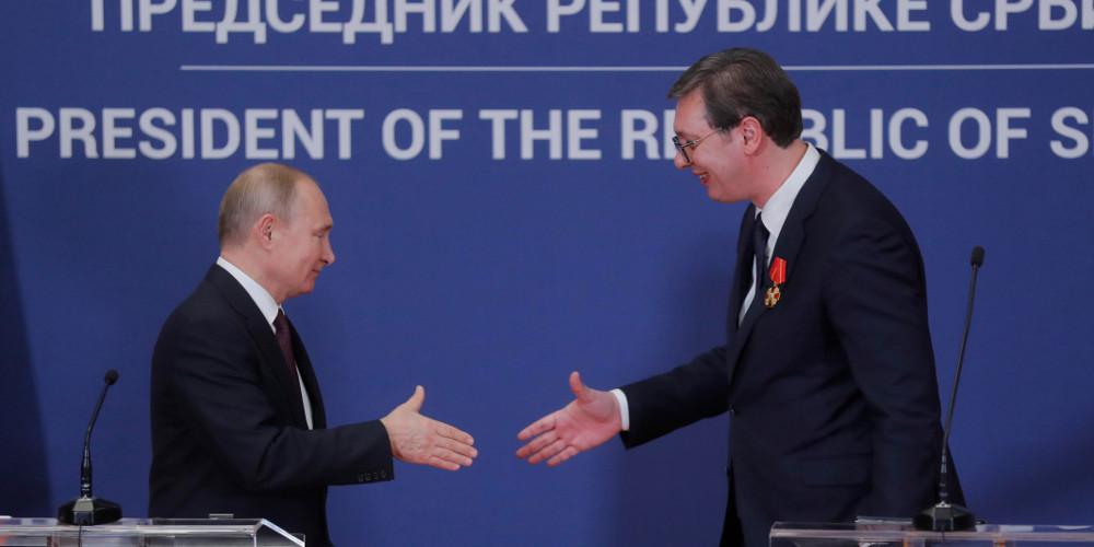 Επίσκεψη του Πούτιν στο Βελιγράδι με τα Ενεργειακά στο επίκεντρο