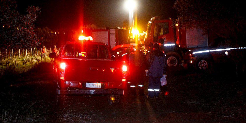 Κάηκε ολοσχερώς ένα αυτοκίνητο στην Κρήτη από άγνωστη αιτία