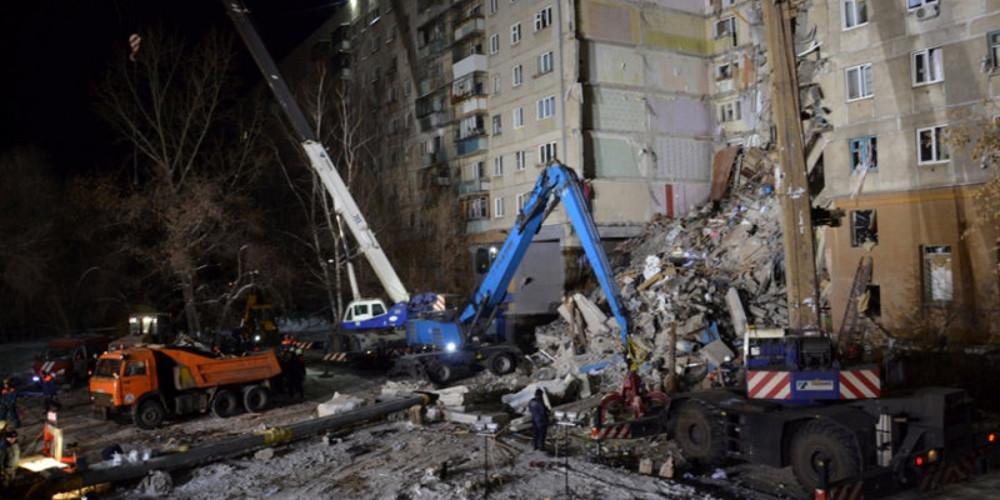 Θρήνος στην Ρωσία: Στους 39 οι νεκροί από την κατάρρευση της πολυκατοικίας