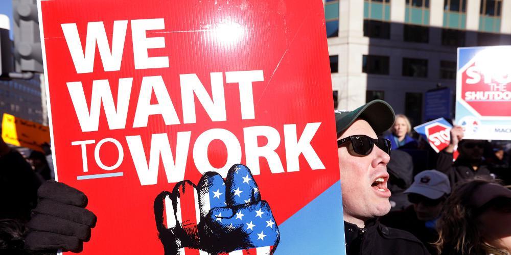 Δύσκολη η καθημερινότητα για 800.000 υπαλλήλους στις ΗΠΑ λόγω shutdown