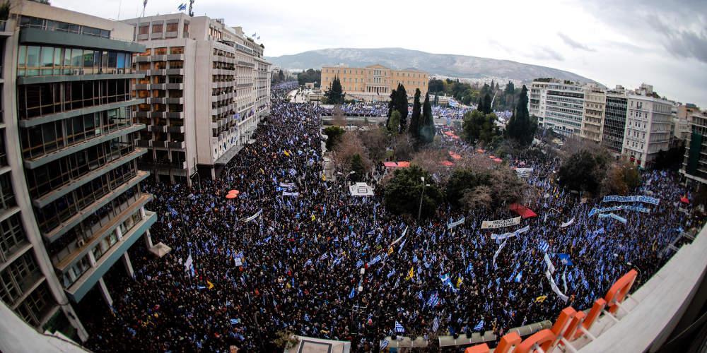 Πρόσκληση για νέο συλλαλητήριο κατά της συμφωνίας των Πρεσπών την Πέμπτη