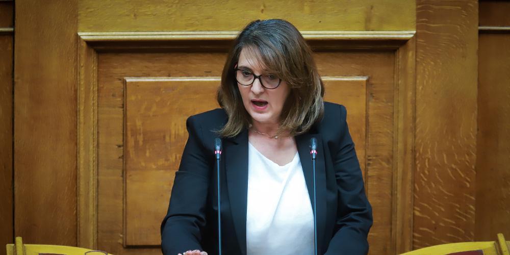 Τι απαντά η Τελιγιορίδου στον «Ε.Τ.» για την ενοικίαση ακινήτου συμβούλου της από το κτηματολόγιο