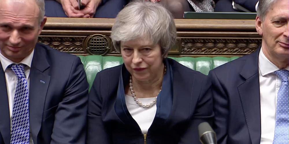 Απορρίφθηκε εκ νέου το σχέδιο της Τερέζα Μέι για το Brexit από τους Βρετανούς βουλευτές