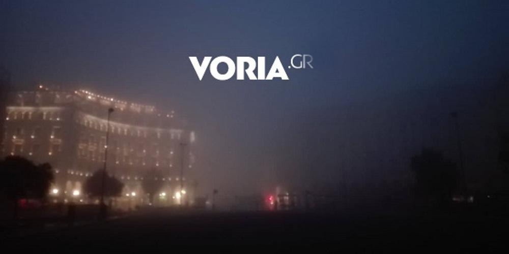Πυκνή ομίχλη κάλυψε την Θεσσαλονίκη από νωρίς το πρωί [εικόνες]
