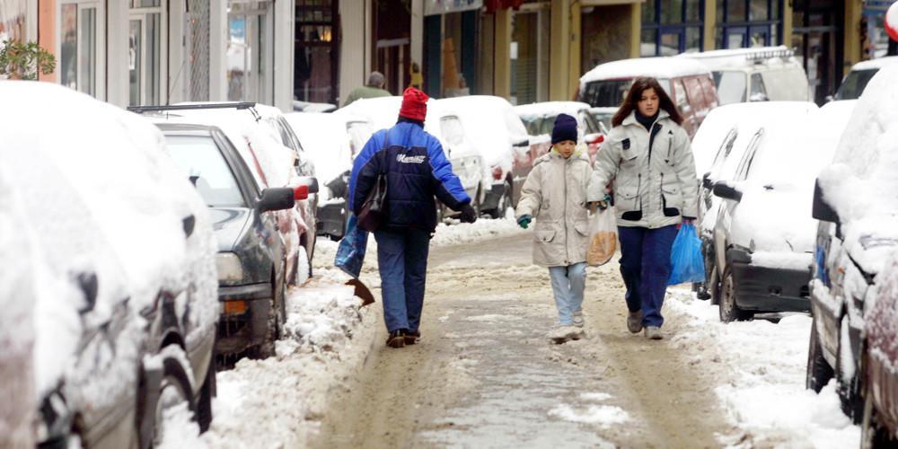 Πρόγνωση καιρού: Χιόνια και στην Αττική από την νέα κακοκαιριά τις επόμενες μέρες